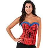 Rubie's Costume Women's Marvel Universe Adult Classic Spiderman Corset