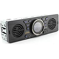 Boomboost AV252 12V 車載MP3ラジオ音響 SDカード カーオーディオ ラッパ内蔵 Bluetoothホストスピーカーに付き