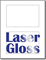 ポストカードレーザー写真光沢4x 6–2/ページ–250シートはがき/ 500