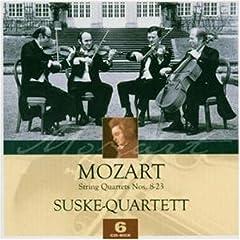 ズスケ・カルテット演奏 モーツァルト弦楽四重奏曲集(6CDs)の商品写真