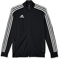 adidas Australia Kids Tiro 19 Training Jacket, Dark Blue/Bold Blue/White