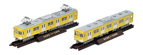 鉄道コレクション 鉄コレ 西武鉄道 2000系 2405編成 2両セット ジオラマ用品 (メーカー初回受注限定生産)