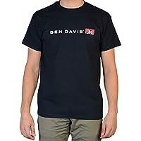 BEN DAVIS Men's Flat Line Short Sleeve Graphic T-Shirt