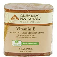 Bar Soap- Vitamin E 4 Ounces (3 Bar Pack)