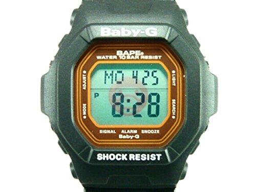 1000個限定 BAPE×CASIO (カシオ) G-SHOCK baby-G milo (マイロ) BG-5600 腕時計 ア・ベイシング・エイプ