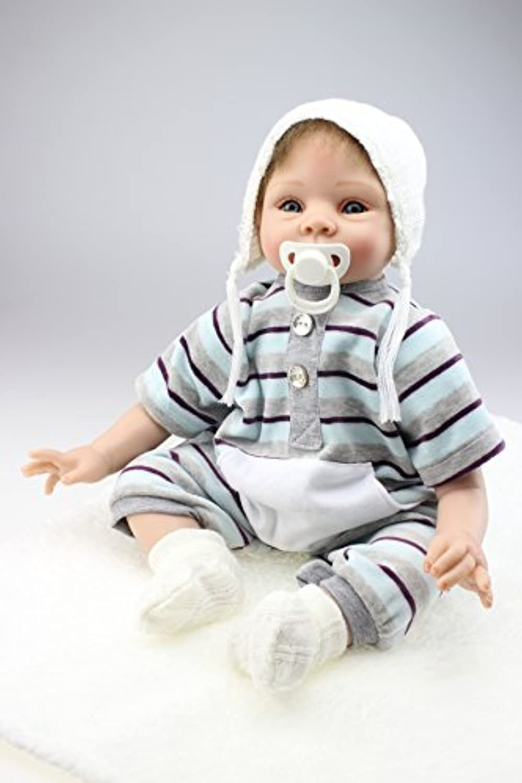NPK COLLECTION 55CM リボーンドール ベビードール きせかえ人形 ドール お人形 誕生日プレゼント 新年プレゼント