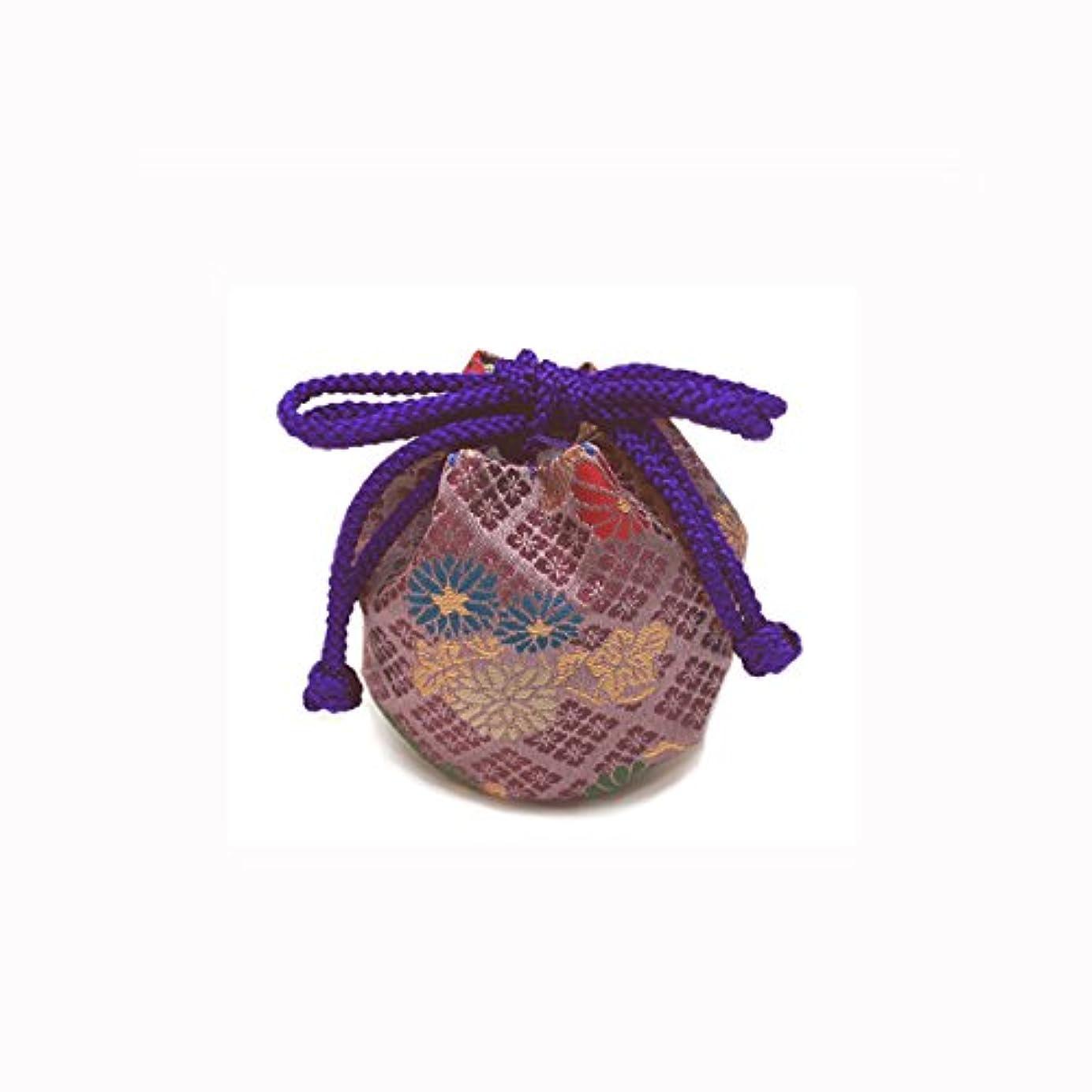 羊の思春期解く御所袋 小 キンラン 紫系