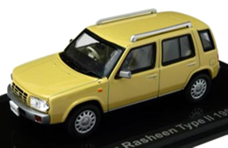 LUMYNO 1/43 Nissan Rasheen Type II Yellow 1994 完成品