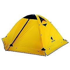 GEERTOP® 2人 4シーズン 防水 キャンプ アウトドア テント 140 cm x 210 cm