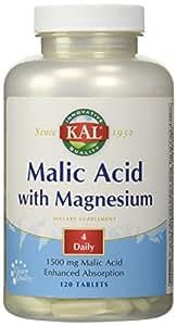 リンゴ酸&マグネシウム 120粒[海外直送品]