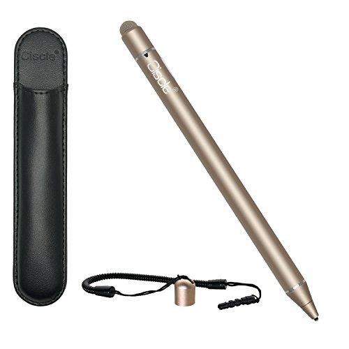 Ciscle タッチペン 極細 スタイラスペン スマートフォン/Andriod/iPhone/iPadペン 第二代 ツムツム USB充電...