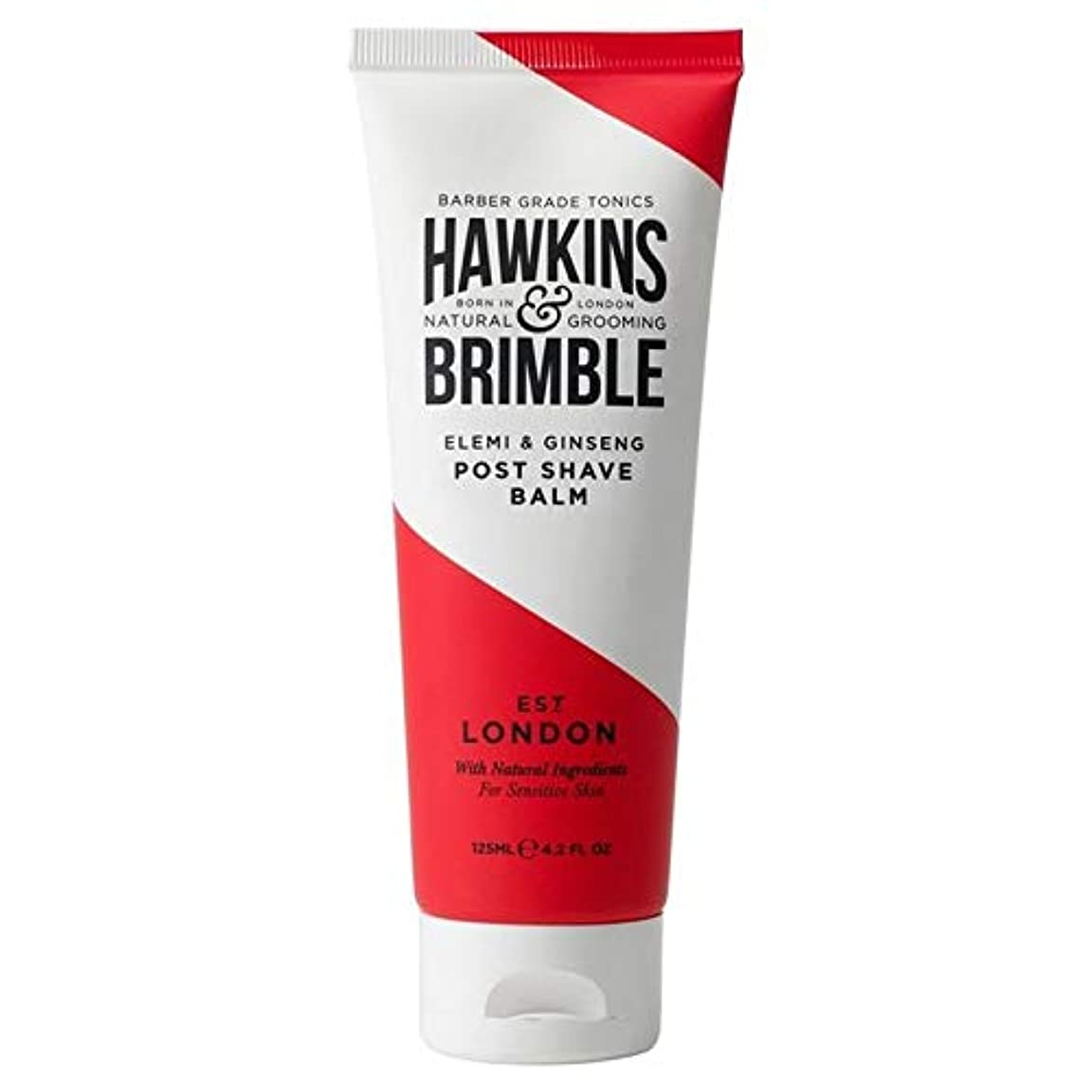 利用可能選ぶストレッチ[Hawkins & Brimble] ホーキンス&Brimbleポストシェーブバーム125ミリリットル - Hawkins & Brimble Post Shave Balm 125ml [並行輸入品]