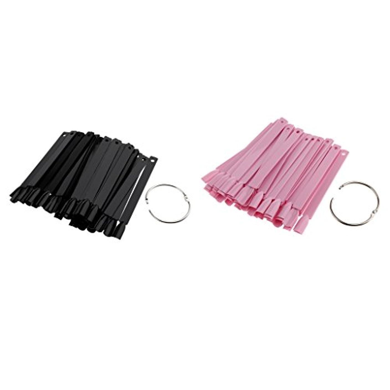 模倣先にフィヨルドT TOOYFUL ネイル道具 人工爪 ヒント ネイルアートチップ カラースティック カラープレート 100個入