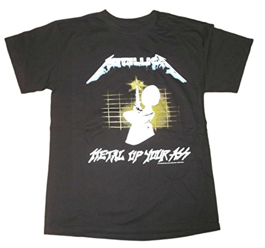 矢しかしながらトムオードリースメタリカ Tシャツ METALLICA Metal Up Your Ass 正規品 ロックTシャツ バンドTシャツ