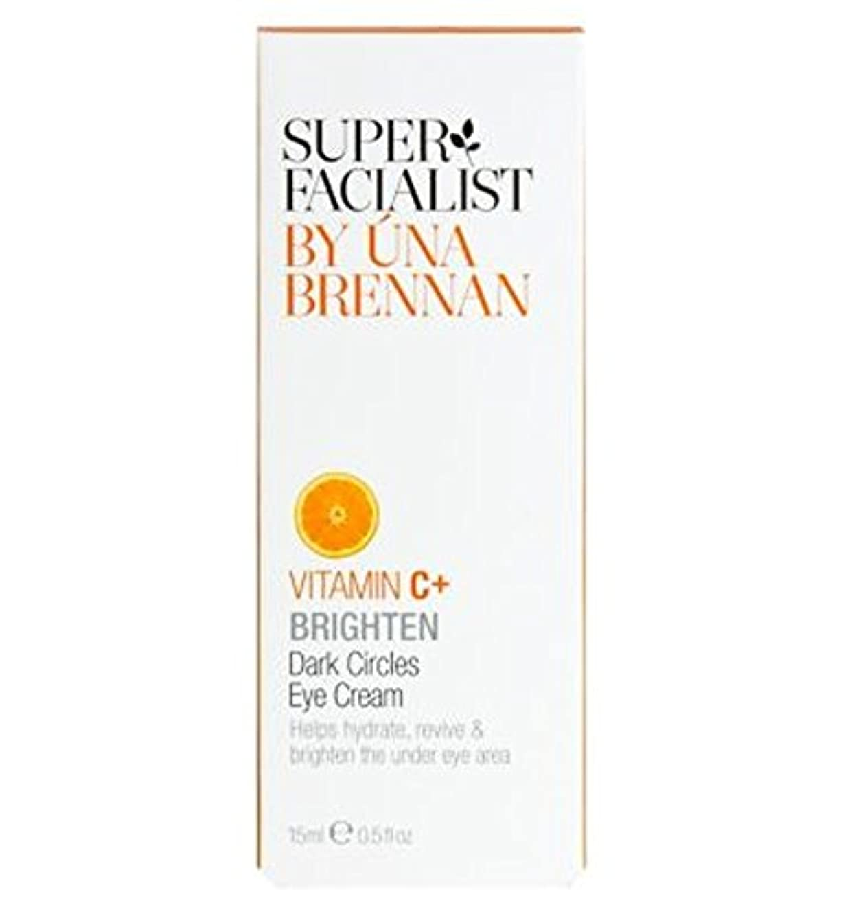 現象満員テーブルSuperfacialistビタミンC +くまアイクリーム15ミリリットル (Superfacialist) (x2) - Superfacialist Vitamin C+ Dark Circles Eye Cream...