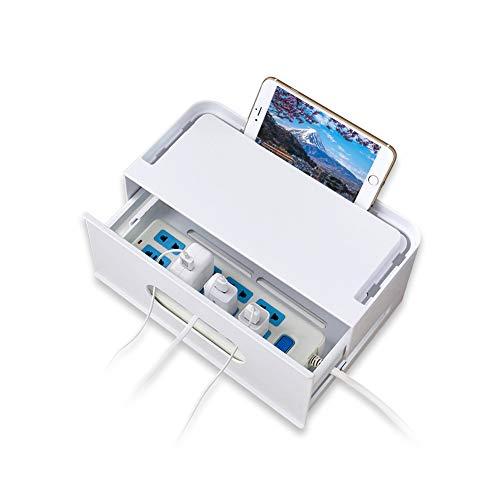 電源タップ ボックス ケーブル収納 ボックス ケーブル まとめ コンセント 配線 コード 収納 配線隠し(タイプ一)