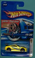 Mattel Hot Wheels 2006 First Editions 1:64 Scale Yellow Nissan Z Die Cast Car #019