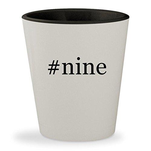 # Nine–ハッシュタグホワイト外側内側&ブラックセラ...