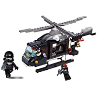 AFM ブロックシリーズ ポリス ライオット ヘリコプター
