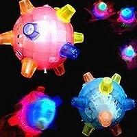 RaiFu ボール カラフル LED 音のセンシティブ 振動の電源 ゲームの子供 点滅ボール おもちゃ