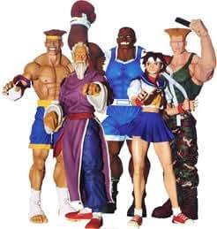 Street Fighter - Round 3: Action Figures Set