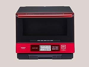 日立 過熱水蒸気オーブンレンジ ヘルシーシェフ 33L パールレッド MRO-NY3000 R