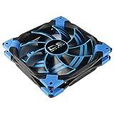 AeroCool エアロクール PCケースファン DS 14cm 青色LED搭載 ブルー EN26413