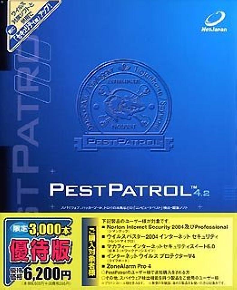 クラッチマットバドミントンPest Patrol 4.2 優待版