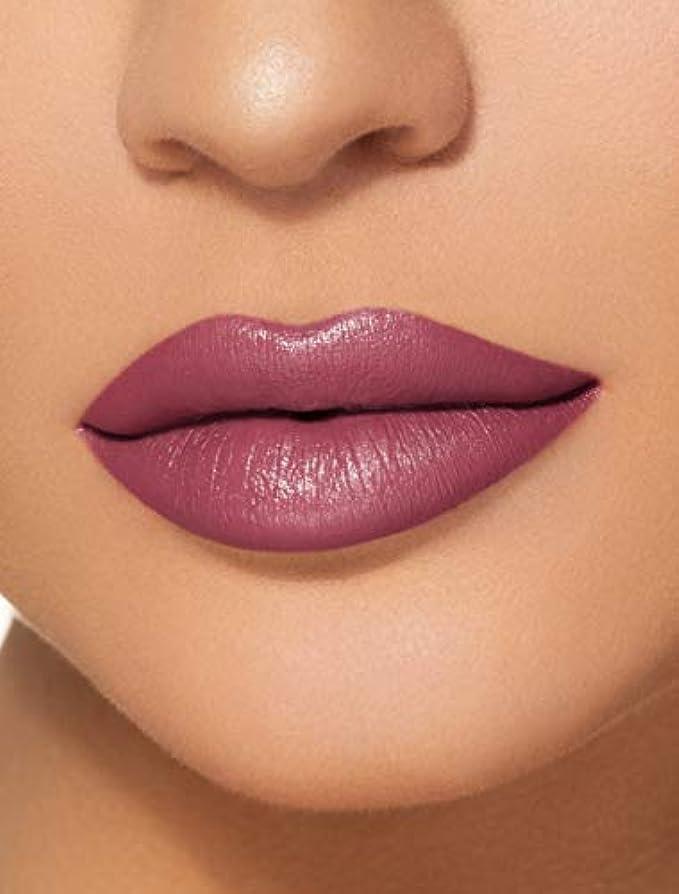 良さ沿って広げるKYLIE COSMETICS Velvet Liquid Lipstick (Boy Bye Velvet)