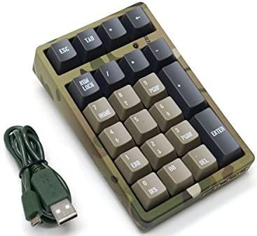 FILCO Majestouch TenKeyPad 2 Professional Cherry MX茶軸 USBポータブルメカニカルテンキーパッド カモフラージュ FTKP22M/CR2
