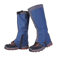 Bluelasers トレッキング用 登山スパッツ ロングスパッツ 防水 アウトドア