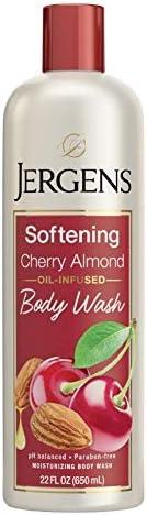 Jergens Softening cherry almond body wash 22 fl Ounce
