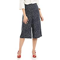 Review Women's Speckle Spot Culottes Navy/White