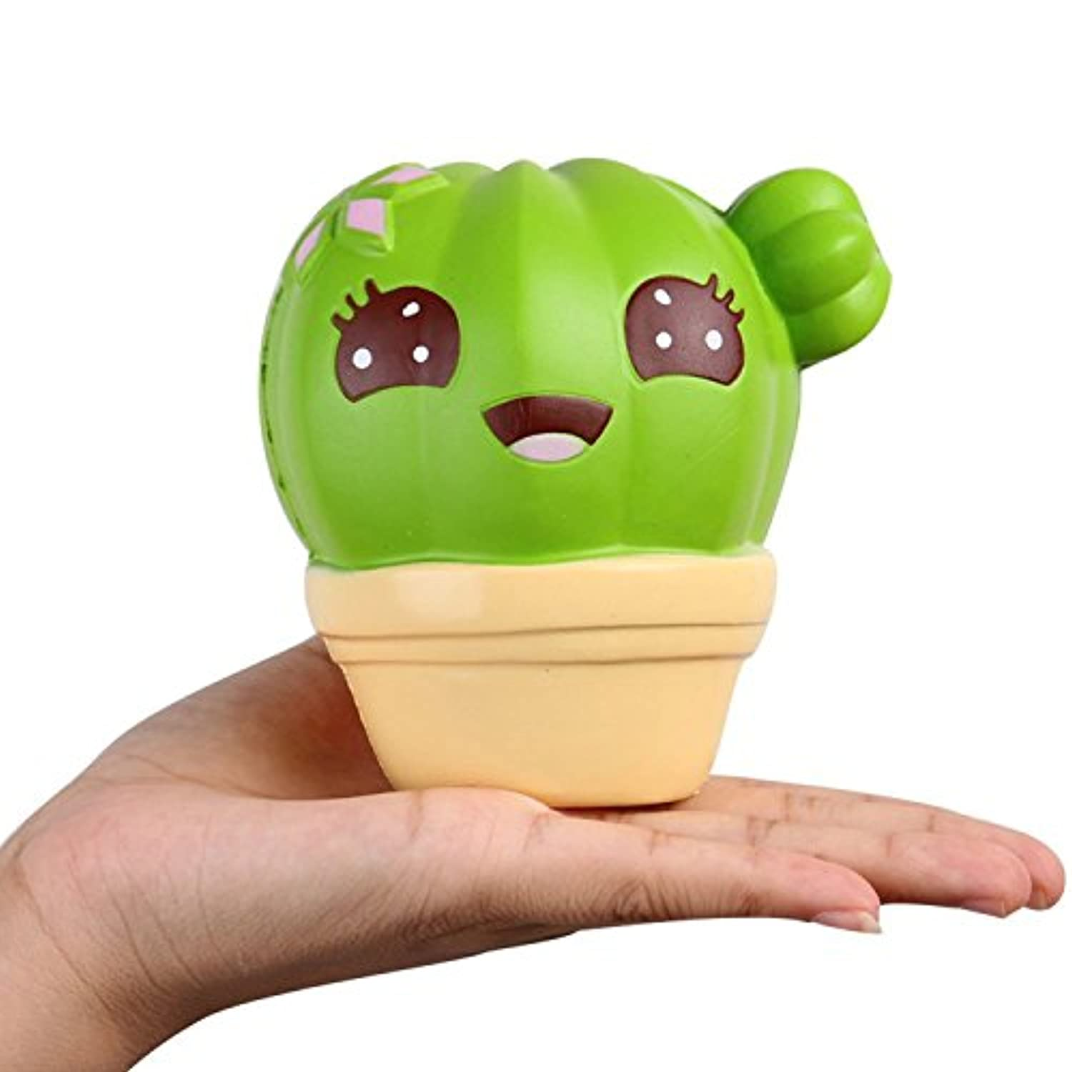 melbee 1pc / 11 cmジャンボSquishy Cactus SquishyおもちゃCactus装飾Relieves応力Squeeze Healing Slow RisingソフトCartoon Fun子供プレゼント