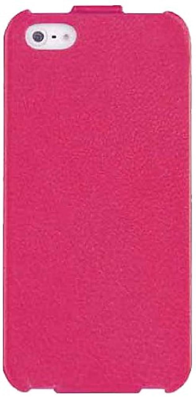 メンテナンスフォアマン北極圏レメックス?ジャパン Leather Case for iPhone5/5S 本革両面カバー ピンク Ri5-L001-PK