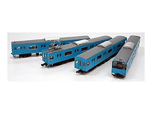 Nゲージ 1066T JR201系体質改善車 ブルー トータル4輛セット (塗装済車両キット)