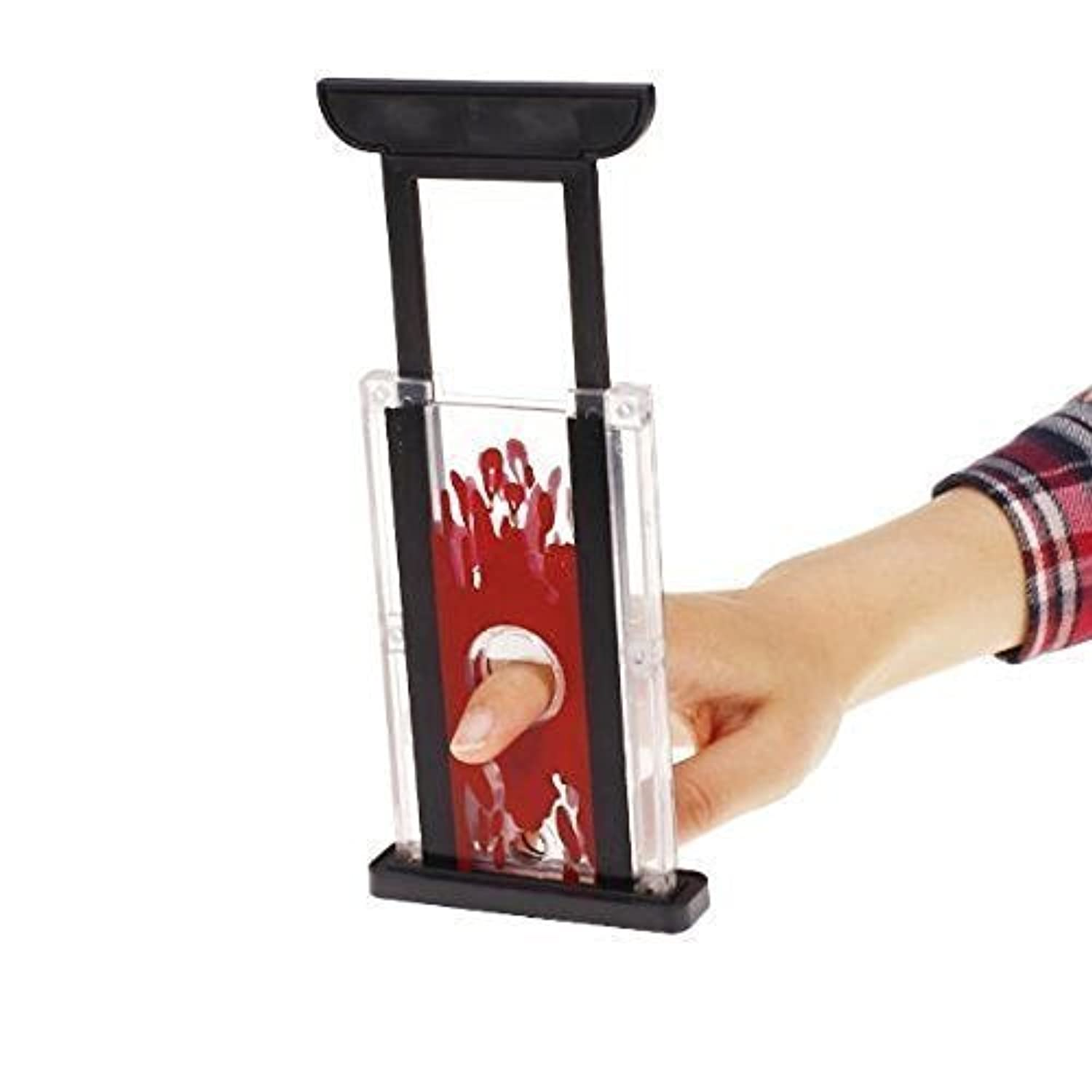 Finger Hay Cutter Chopper Magician Trick Prop Magic Toy - One Item w/Random Color and Design by Yeahgoshopping [並行輸入品]