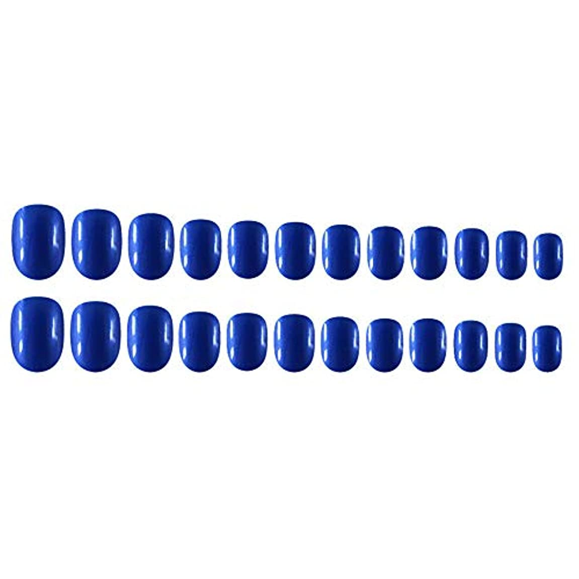 バット撃退する膨らみDecdeal Decdeal ネイルチップ 24ピース 12異なるサイズ diy サロン ネイルアートツール 偽