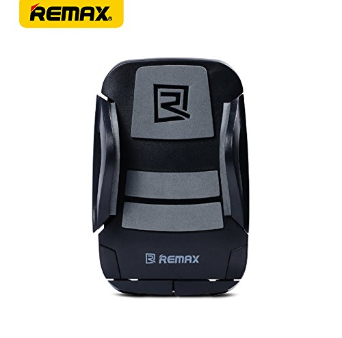 REMAX バイク ホルダー 自転車 スマホスタンド 360°回転 iPhone7/Plus対応 最大85mmまで RM-C08-BKGY