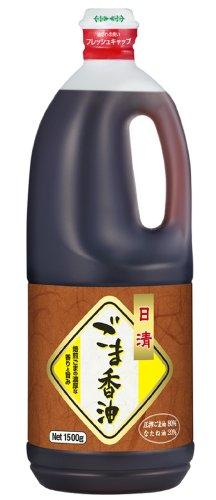 日清オイリオ ごま香油 ぺット 1500g