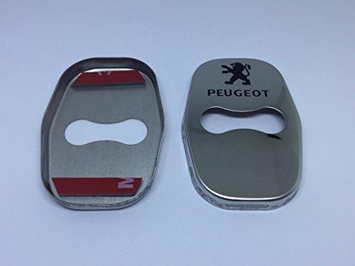 プジョー PEUGEOT ドアロックカバー ストライカーカバー (一台分) 【輸入品】