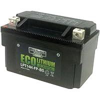 プロセレクト LPT14H-FP-BS バイク用エコリチウムイオンバッテリー(互換品番:YTX7A-BS、YTX9-BS、YTX12、YTX12-BS、YT12A-BS、YTZ12S、YTZ14S、YTX14-BS、YTX14H-BS) 1個 365日メーカー保証付き