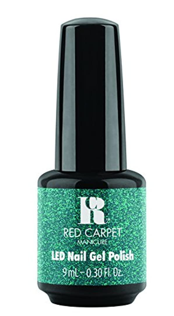 受け取る試験面積Red Carpet Manicure - LED Nail Gel Polish - Designer Series - Shimmering Gown - 0.3oz / 9ml