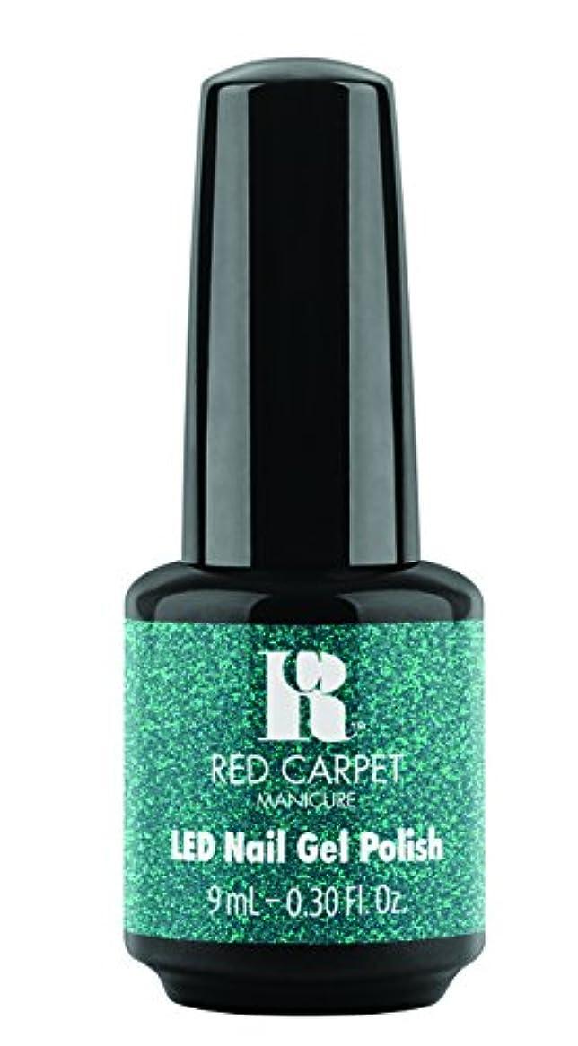 リー費用保険Red Carpet Manicure - LED Nail Gel Polish - Designer Series - Shimmering Gown - 0.3oz / 9ml