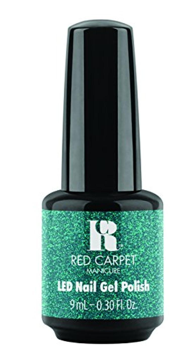 勝者割れ目ケイ素Red Carpet Manicure - LED Nail Gel Polish - Designer Series - Shimmering Gown - 0.3oz / 9ml