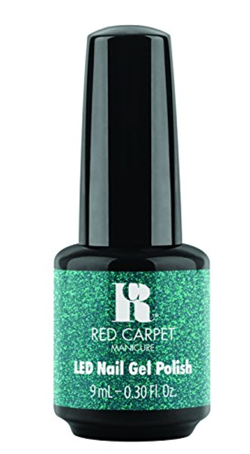 合意くヘルシーRed Carpet Manicure - LED Nail Gel Polish - Designer Series - Shimmering Gown - 0.3oz / 9ml