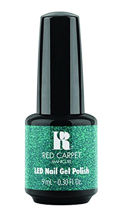 伸ばす等価苦いRed Carpet Manicure - LED Nail Gel Polish - Designer Series - Shimmering Gown - 0.3oz / 9ml