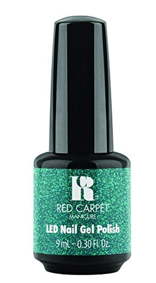 国民投票器具申し立てRed Carpet Manicure - LED Nail Gel Polish - Designer Series - Shimmering Gown - 0.3oz / 9ml