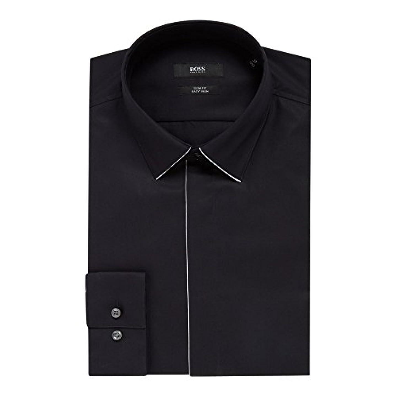 他の日接続詞ドラッグ(ヒューゴ ボス) Hugo Boss メンズ トップス シャツ Ivan Slim Fit Tipped Collar And Placket Shirt [並行輸入品]
