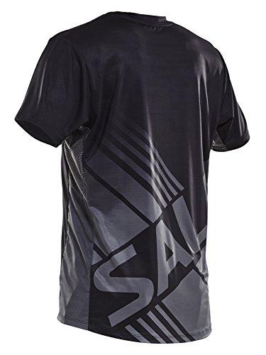 SALMING チャレンジTシャツ (ブラック)